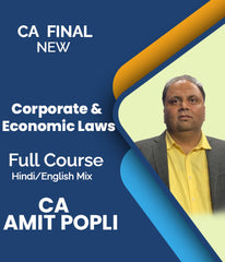 CA Final Corporate & Economic Laws Full Course by Amit Popli (New) - Zeroinfy