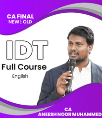CA Final Indirect Tax Full Course By CA Aneesh Noor Muhammed (New/Old) - Zeroinfy