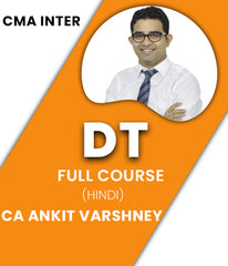 CMA Inter Direct Tax Full Course Video Lectures By CA Ankit Varshney - Zeroinfy