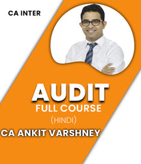 CA Inter Audit Full Courses By Ankit Varshney (New) - Zeroinfy