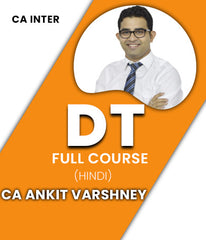 CA Inter Income Tax (DT) Full Course Video by Ankit Varshney (Old & New) - Zeroinfy