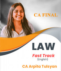 CA Final Law Fast Track In English By CA Arpita Tulsyan (New/Old) - Zeroinfy
