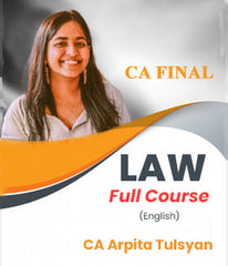 CA Final Law in English Full Course By CA Arpita Tulsyan (New/Old) - Zeroinfy
