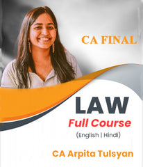 CA Final Law Full Course By CA Arpita Tulsyan (New/Old) - Zeroinfy