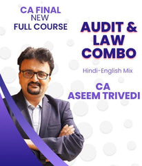 CA Final (New) Audit And Law Combo Full Course Video Lectures By Aseem Trivedi - Zeroinfy