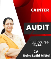 CA Inter Audit Full Course In English By Neha Lathi Mittal