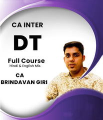 CA Inter Direct Tax Full Course by CA Brindavan Giri