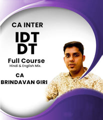 CA Inter Taxation Full Course by CA Brindavan Giri