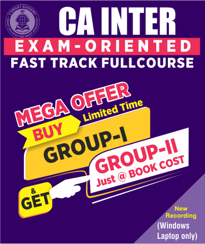 CA Inter Fast Track Full Course Both Group Combo By Vsmart Academy (New) - Zeroinfy