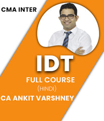 CMA Inter Indirect Tax Full Course Video Lectures By CA Ankit Varshney - Zeroinfy