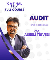 CA Final (New) Audit Full Course Video Lectures By Aseem Trivedi - Zeroinfy
