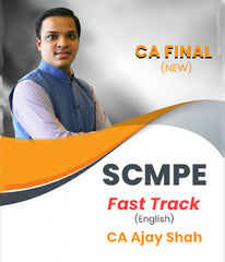 CA Final New SCMPE Fast Track in English By CA Ajay Shah - Zeroinfy