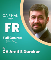 CA Final Financial Reporting New Syllabus Full Course By CA Amit S Darekar - Zeroinfy