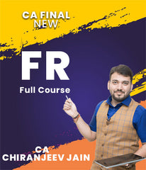 CA Final Financial Reporting Full Course By CA Chiranjeev Jain (New)