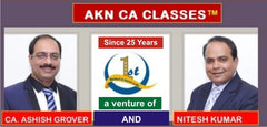 CA Foundation All Subject Full Course Combo By AKN CA Classes - Zeroinfy