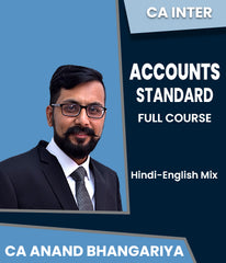 CA Inter Accounting Standard (AS) Only Full Course By Anand Bhangariya (New) - Zeroinfy