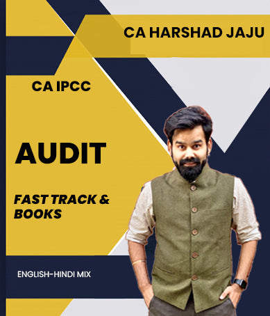 CA IPCC Audit Fast Track With Books By CA Harshad Jaju - Zeroinfy