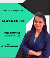 CMA Intermediate Laws & Ethics Full Course Video Lectures By Shivangi Agrawal - Zeroinfy