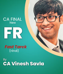 CA Final New Financial Reporting Fast Track By CA Vinesh Savla - Zeroinfy