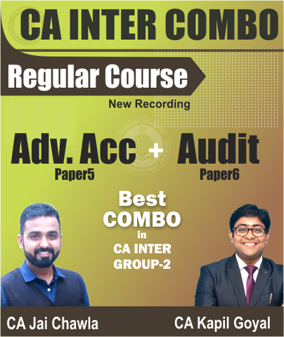 CA Inter Advance Accounts And Audit Full Course Combo By Jai Chawla And Kapil Goyal - Zeroinfy