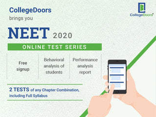 NEET 2020 Online Test Series by CollegeDoors