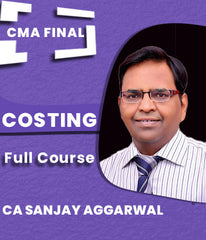 CMA Final Costing (SCMDE) Full Course By CA Sanjay Aggarwal - Zeroinfy