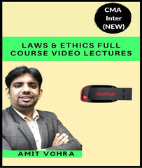 CMA Intermediate (New) Laws & Ethics Full Course Video Lectures By Amit Vohra - Zeroinfy