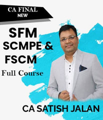 CA Final (New) Strategic SFM,SCMPE,FSCM Elective Combo Videos  By Satish Jalan - Zeroinfy