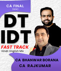 CA Final DT IDT Fast Track Course By CA Bhanwar Borana and CA Rajkumar - Zeroinfy