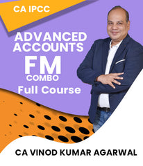 CA IPCC Adv. Accounting and FM Combo Full Course by Vinod Kumar Agarwal - Zeroinfy