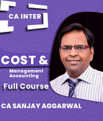 CA Inter Cost and Management Accounting Full Course By Sanjay Aggarwal - Zeroinfy