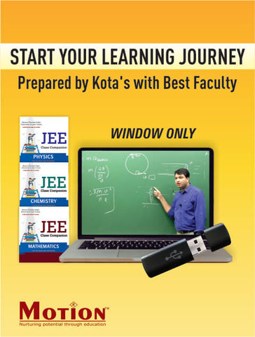 IIT JEE Main and Advanced Comprehensive ADLP Combo Package Without EDU-TAB By Motion Education