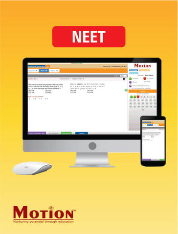 NEET Online Test Series By Motion Education