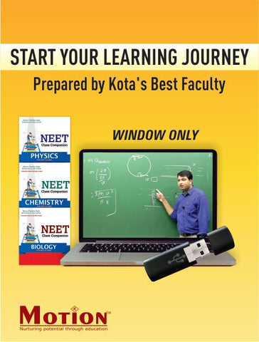 NEET Comprehensive ADLP Package Video Lectures Combo Without EDU-TAB By Motion Education