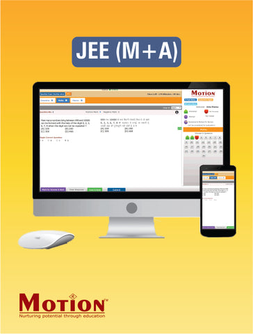 IIT JEE Advanced Online Test Series By Motion Education