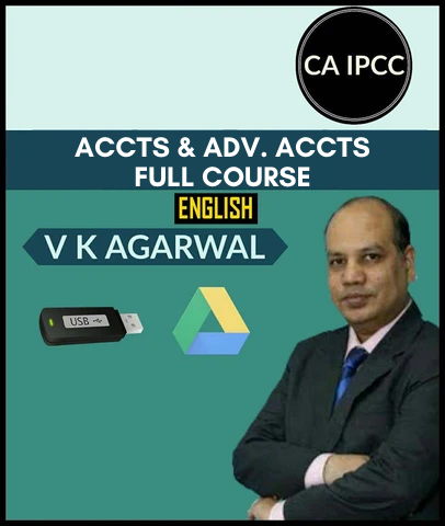 CA IPCC Accounting & Adv. Accounting Full Course Combo By Vinod Kr. Agarwal