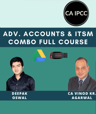 CA IPCC Adv. Accounts & ITSM Combo Full Course Video Lecture by Vinod Kr. Agarwal & Er Deepak Oswal