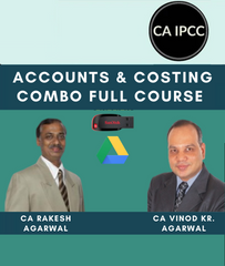 CA IPCC Accounts and Costing Combo Full Course Video Lecture by Vinod Kr. Agarwal & Rakesh Agarwal