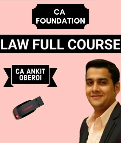 CA Foundation Law Full Course By Ankit Oberoi (New)