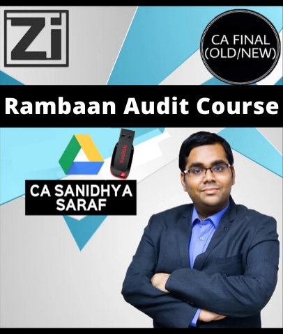 CA Final Rambaan Audit Course By Sanidhya Saraf (Old/New)
