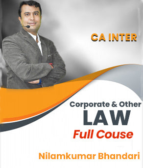 CA INTER (New) Corporate & Other Laws by CA Nilamkumar Bhandari - Zeroinfy