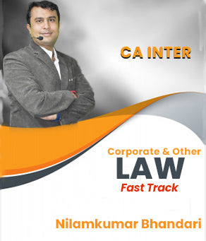 CA Inter Corporate & Other Laws - Fastrack Revision By CA Nilamkumar Bhandari - Zeroinfy