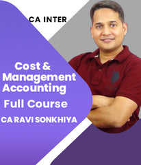 CA Inter Cost And Management Accounting Full Course By Ravi Sonkhiya - Zeroinfy