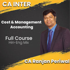 CA Intermediate Cost and Management Accounting Full Video Lectures By CA Ranjan Periwal - Zeroinfy