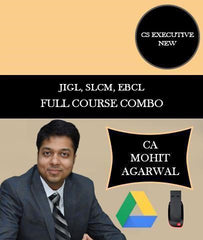 CS Executive JIGL, SLCM, EBCL Full Combo By CA Mohit Agarwal - Zeroinfy