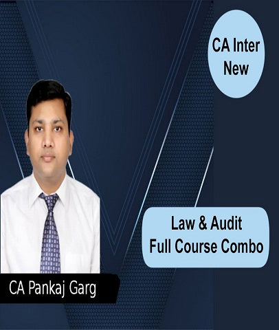 CA Intermediate Law and Audit Full Course Combo By Pankaj Garg