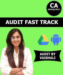CA Inter / IPCC Fast Track Audit By Prof Vaishali Chaudhary - Zeroinfy
