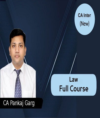 CA Intermediate Law Full Course Video Lectures By Pankaj Garg