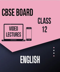 Class XII CBSE English Full Course By Study At Home - Zeroinfy