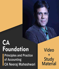 CA Foundation Accounts Full Course Video Lectures By CA Neeraj Maheshwari - Zeroinfy